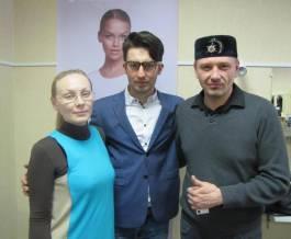 Впервые в Сибири, в ТЦ KRYOLAN professional, состоялся авторский семинар по прическам Фарруха Шамуратова
